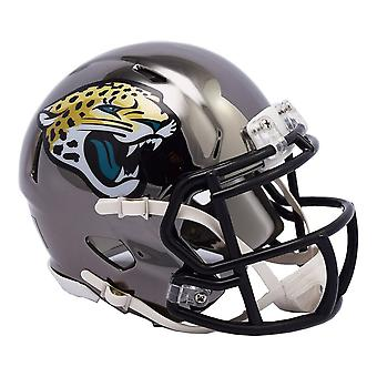 Riddell mini football helmet - NFL CHROME Jacksonville Jaguars