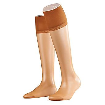 Falke Pure Matte Transparent 20 Denier Knee High Tights - Sun Tan