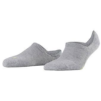 Falke pohode kop no show ponožky-svetlosivá
