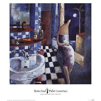 Bao Azul Poster Print by Didier Lourenco (13 x 15)