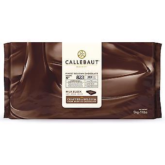 Callebaut 34% Milk Chocolate '823' Block