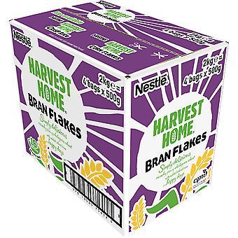 Nestlé Harvest Home Bran Flakes Cereal Bag Pack