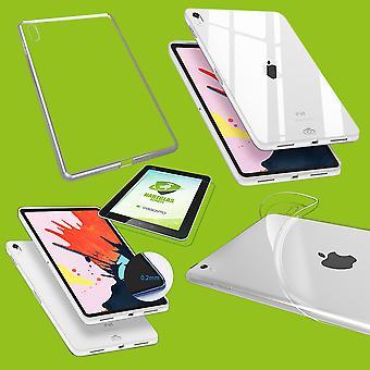 Para Apple iPad Pro 11.0 polegadas 2018 / iPad Air 2020 4. Gen Transparent Sleeve Case Cover + H9 Hard Glass