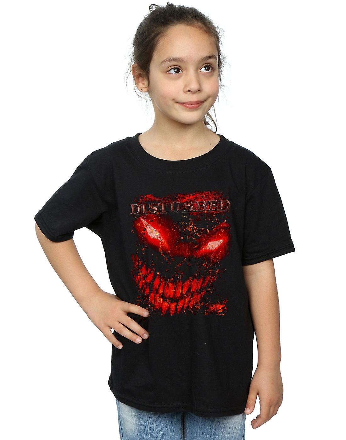 Disturbed Girls Splat Face T-Shirt