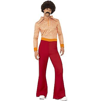 Authentic 70's Guy Costume, Chest 38