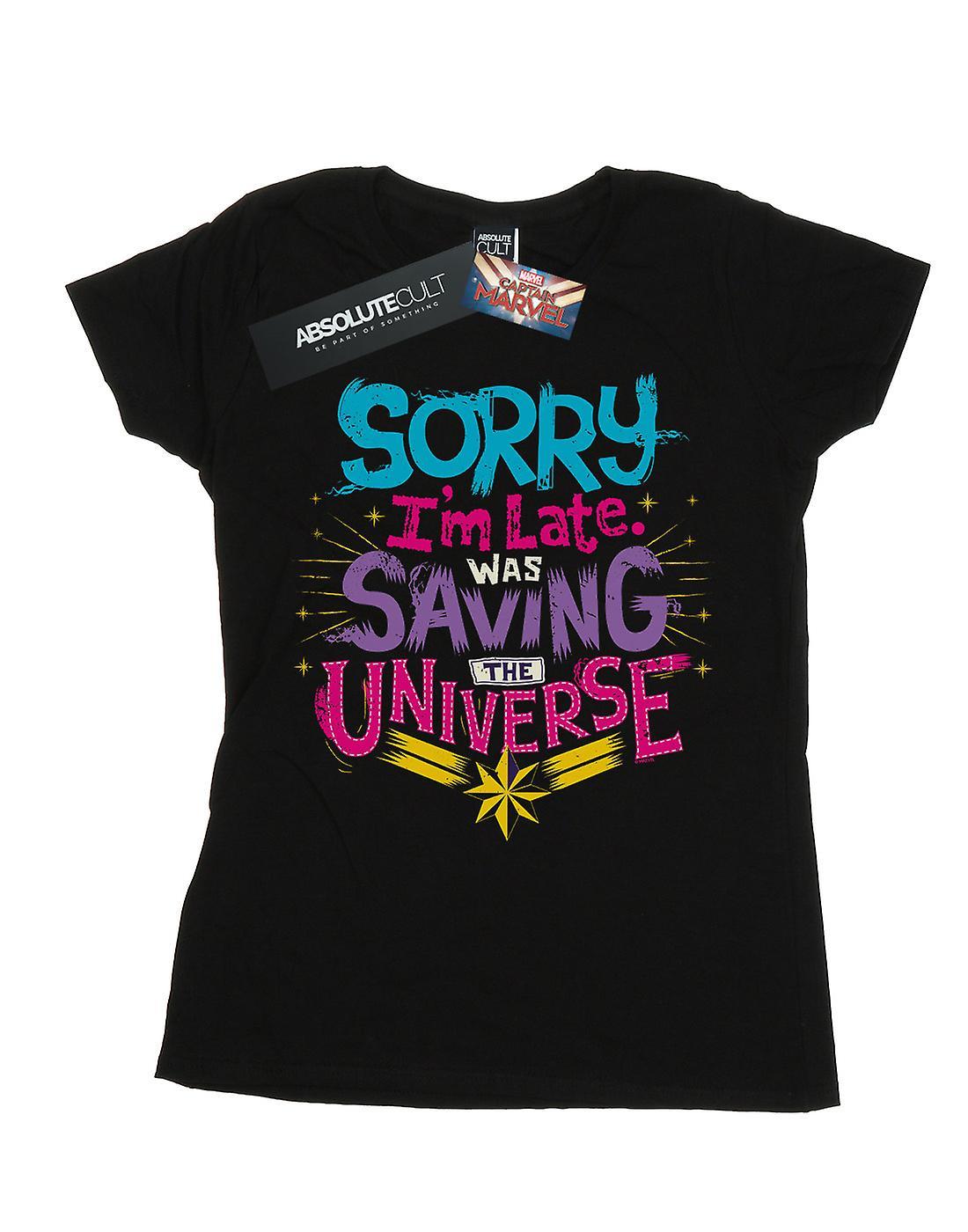 Marvel Women's Captain Marvel Saving The Universe T-Shirt