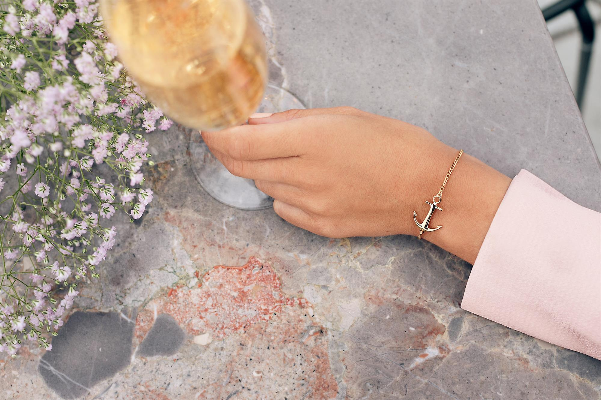 Tom Hope Saint Rose Gold Bracelet TM0332