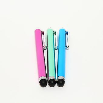 3PCS Touch Stylus Pen Large Universal iPhone/iPad/Android pink/green/Blue 3PCS Touch Stylus Pen Large Universal iPhone / iPad / Android rosa / verde / azul