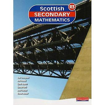 Mathématiques au secondaire écossais rouge 3: Livre de l'élève (Maths secondaire écossais)