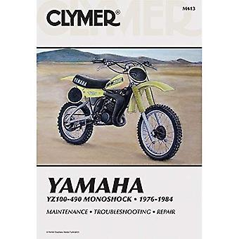 Yamaha YZ100-490 Monoshock, 1976-84: Clymer Workshop Manual
