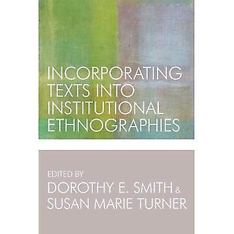 Integration von Texten in institutionellen Ethnographien