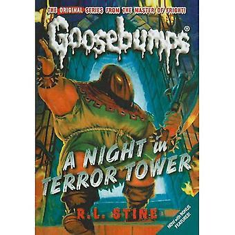 Nuit dans la tour de la terreur (chair de poule