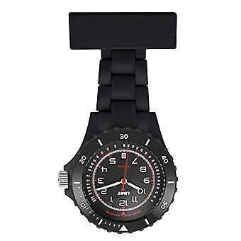 Limit 6110.90, Damen Quarz-analog-Anzeige und schwarzem Kunststoff-Armband