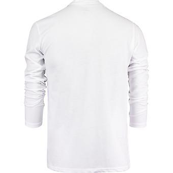 Quiksilver Mens Rocco Chains LS Shirt - White