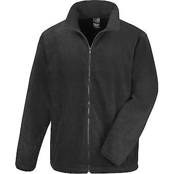 Outdoor Look Mens Ossa Core Fitted Full Zip Fleece Jacket