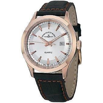 Zeno-relógio mens assistir cavalheiro quartzo rosa 6662-515Q-PGR-f3