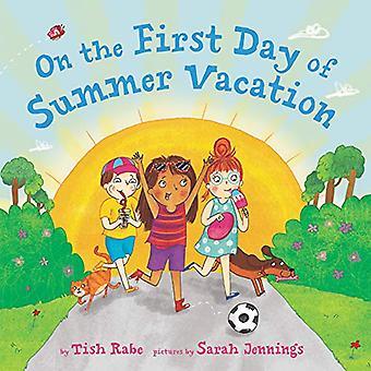 No primeiro dia de férias de verão