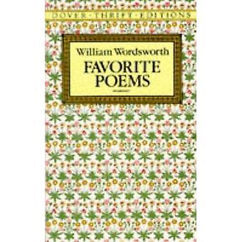 Favorite Poems by William Wordsworth - 9780486270739 Book
