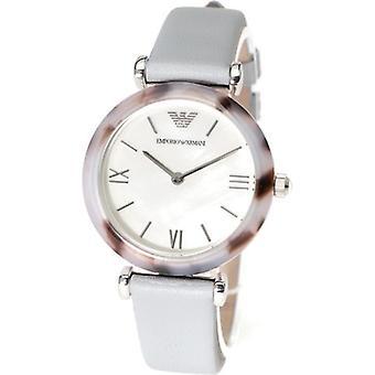 Emporio Armani Ar11002 orologio in pelle blu donna