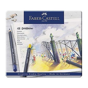 Faber-Castell Goldfaber Colour 48 Pencil In Metal Tin