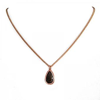 Lola Rose Smokey Obsidian Myrtle Necklace  1M0089-008000