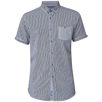 DUKE Duke Small Check Korte Mouw Shirt