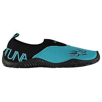 Hete Tonijn Womens dames Aqua schoenen Splasher patroon