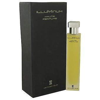 Illuminum vetiver oud eau de parfum spray by illuminum 539435 100 ml