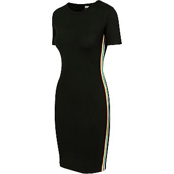 Urban Classics Women's Sweat Dress Multicolor Side Taped
