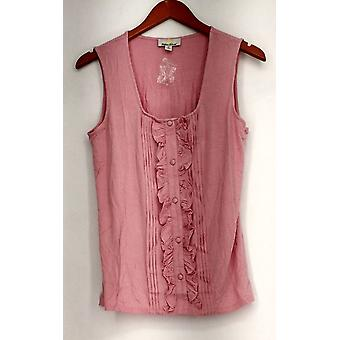 Kathleen Kirkwood Top Tux Luxe Tank / Camisole Pink A222047