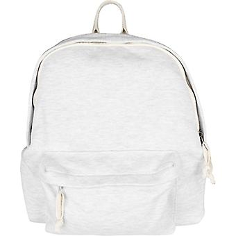 Urban Classics Sweat Backpack - Elfenbein Adult Unisex Backpacks (Offwhite Melange) 35x12x30 cm (B x H T)