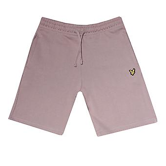 Junior Boys Lyle and Scott Classic Sweat Shorts in Grey