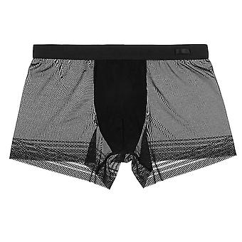HOM Temptation DESIR Boxer Brief, Black, Medium
