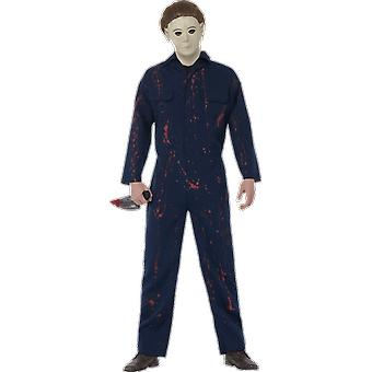 Manes Halloween H20 Horror Movie Fancy Dres Costume With Mask