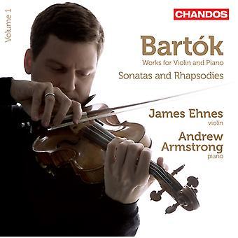 B. Bartok - Bart K: Sonatas & Rhapsodies, Vol. 1 [CD] USA import