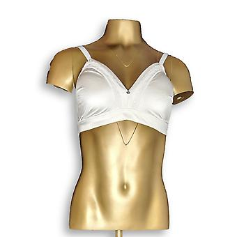 Breezies One Microfiber & Lace Wirefree Contour White Bra A346538