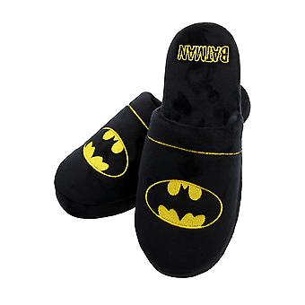 Mens Batman DC Comics Mule Slippers Large UK 8-10 Official Licensed Merchandise