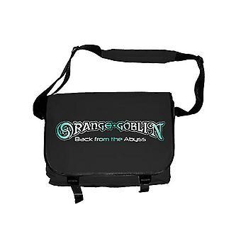 Orange Goblin Back From The Abyss Official New Black Messenger Bag
