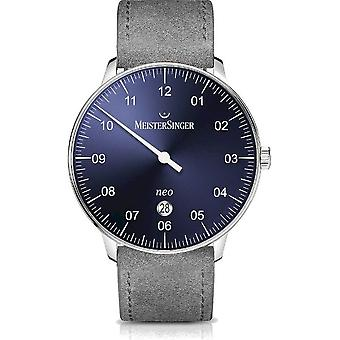 MeisterSinger Men's Watch Neo Plus Single-Hand Watch Automatic NE408_SV06