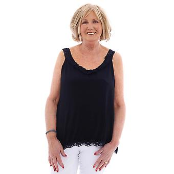 Made In Italy Silloth Lace Trim Camisole