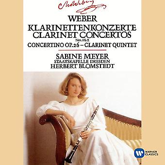 Weber / Meyer, Sabine - Clarinet Concertos 1 & 2 / Concertino in E Flat [CD] USA import