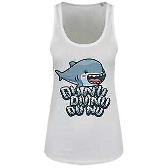 Grindstore Womens/Ladies Cute Shark Attack Floaty Tank