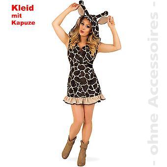 Sjiraff kostyme Afrika giraffe kostyme damer Hoody kjole damer drakt