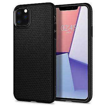 Case voor iPhone 11 Pro Max Liquid Air Black Mat