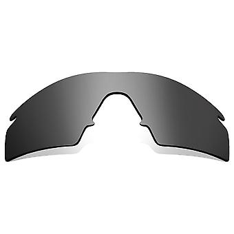 Polarized Replacement Lenses for Oakley M Frame Strike Frame Silver Anti-Scratch Anti-Glare UV400 by SeekOptics