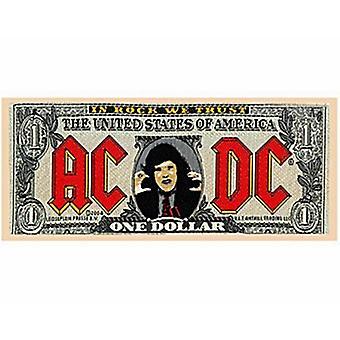 Ac/Dc pengeseddel sy-på klud Patch