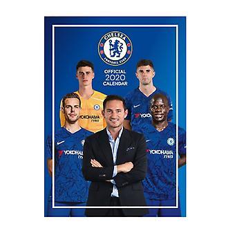Chelsea 2020 officiella väggkalender