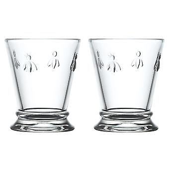 La Rochere set van 2 Bee mini tumblers, 18cl