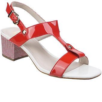 Riva Fabia Womens T-Bar Mule Sandals