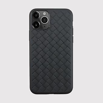 Textured Weave Black iPhone 11 Pro Case